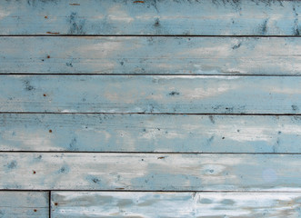 Old blue wooden background. Vintage wooden background, blue gray board