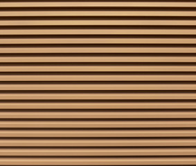 Light brown steel wall with lines texture