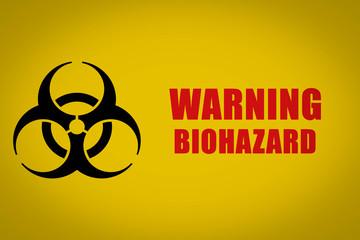 Bio Hazard, Biohazard, Gefahr, Symbol, Schild, Warnung, Textur, Hintergrund, Gelb, Schwarz