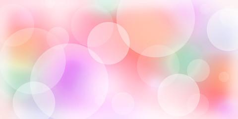 Bubble wallpaper peach