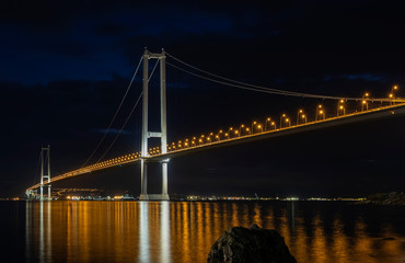Osman Gazi Bridge (Izmit Bay Bridge). Izmit, Kocaeli, Turkey