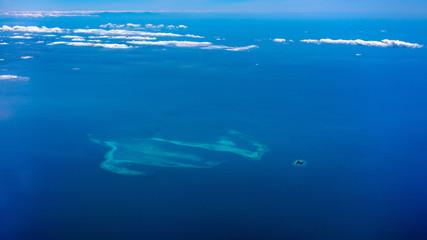 Atoll near Mindoro strait, Philippines