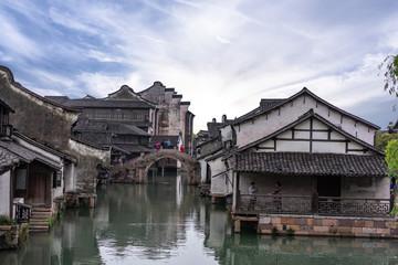 landscape of wuzhen in china