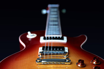 Electric Guitar Bridge Pick Up, Pots and Strings