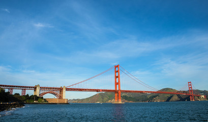 Golden Gate Bridge - the most internationally recognized symbols of San Francisco, California and the United States