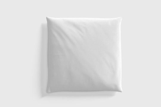 Mock up of a pillow - 3d rendering