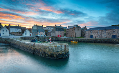 Wall Mural - Portsoy in Aberdeenshire