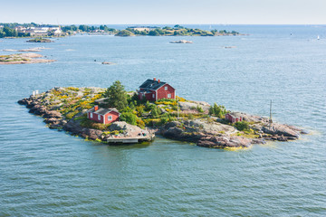Islands  near Helsinki in Finland