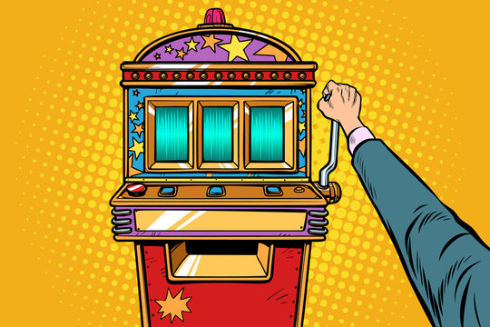one-armed bandit slot machine