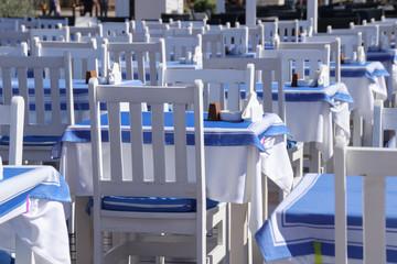 Tavern on the beach promenade Paphos - Cyprus