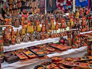 CHICHICASTENANGO In Chichicastenang are the famous Sunday market, february 3 2019 Chichicastenango, Guatemala