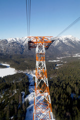 Cable car to the Zugspitze, Germany