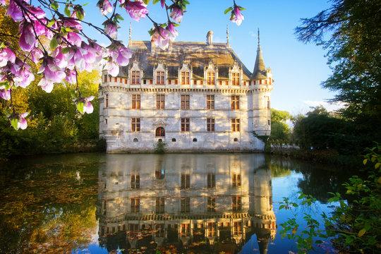 Azay-le-Rideau castle, France