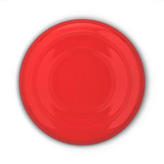 Blank frisbee mockup
