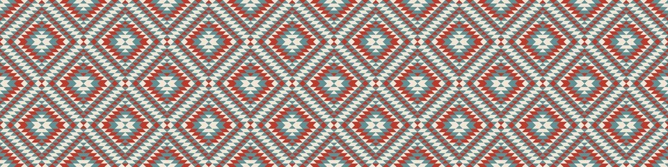 Papiers peints Style Boho Aztec Geometric pattern illustration