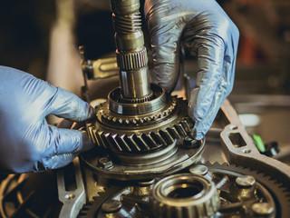 Fototapeta Gears and transmissions