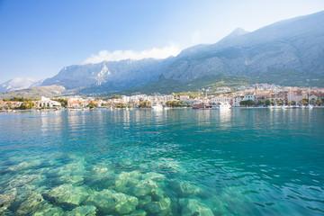 Makarska, Dalmatia, Croatia - Nature is beautiful at the coastline of Makarska