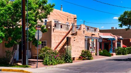 The Old Town of Albuquerque, New Mexico