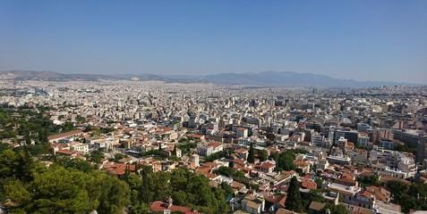 City under blue sky- Athens