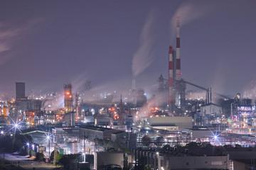 周南工場夜景
