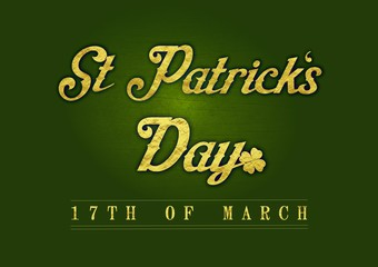 St Patricks Day - 17th 0f March