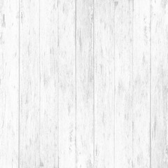 White wood wall plank texture or background