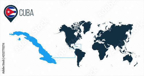 Where Is Cuba Located On The World Map on