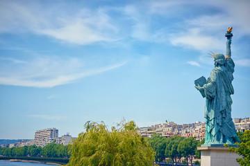 Liberty statue Paris Wall mural
