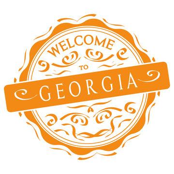 Siegel vector Welcome to  Georgia