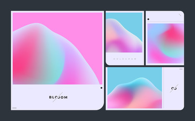 Vector Hologram Gradient Pack