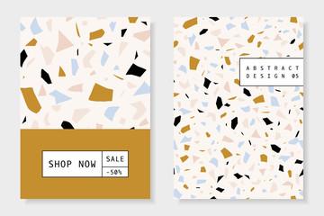 Collage and Terrazzo Brochure Design Templates