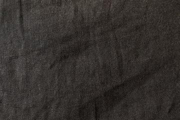 linen crumpled fabric background