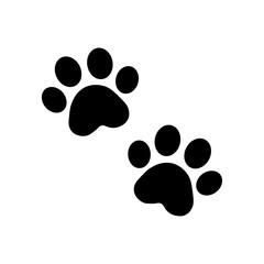 dog paw vector