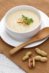 southern peanut soup, american cuisine