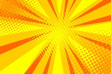 Comic book pop art strip radial backdrop