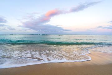 Pastel Sunrise at Waikiki beach