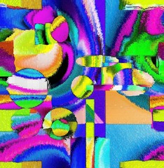 Color abstract and art design