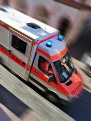 Ambulanz im Einsatz