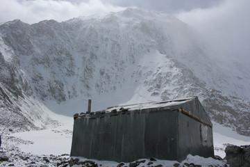 Tomski Hut on Mt. Belukha
