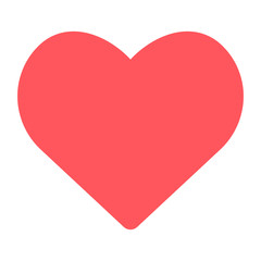 heart icon on white background. vector symbol EPS10
