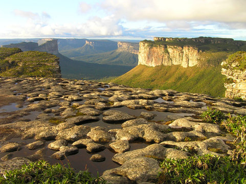 The Morro do Pai Inacio in the Chapada Diamantina, Bahia, Brazil