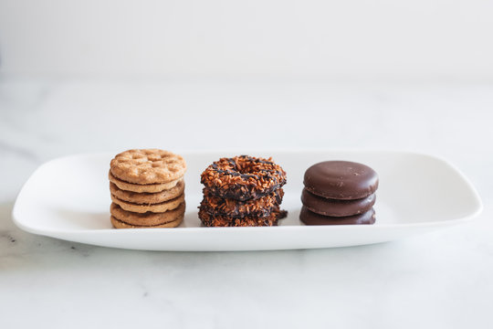Assortment of Girl Scout Cookies