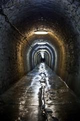 Papiers peints Tunnel Salt mine in north of Romania