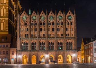Stralsund - Rathaus am Alten Markt