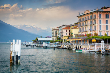 Bellagio, small town on lake Como, Lombardy, Italy
