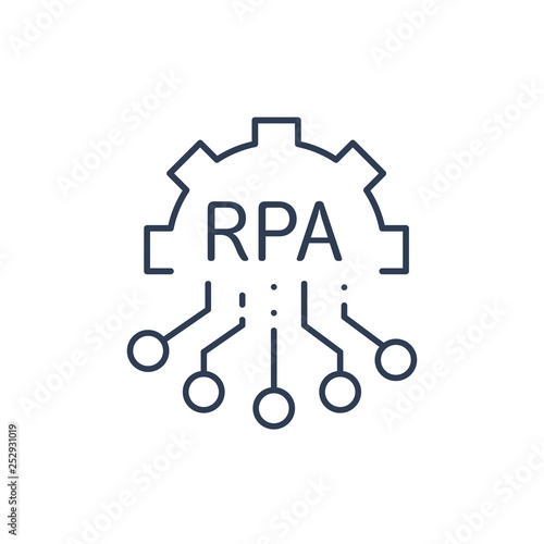 RPA robotic process automation industry  Smart technology