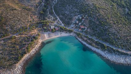Psili Ammos beach. Thassos island, Greece