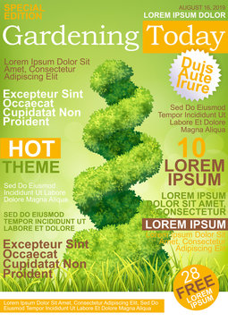Magazin Cover Gardening