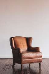 Antique Leather Chair