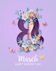 Women's Day 8 march